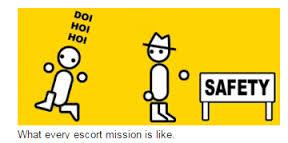 Escort missions