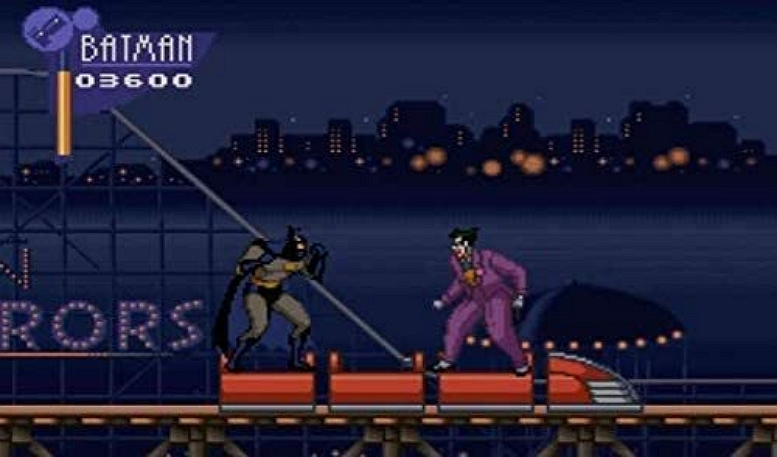 ADEVENTURES OF BATMAN AND ROBIN SNES SCREEN