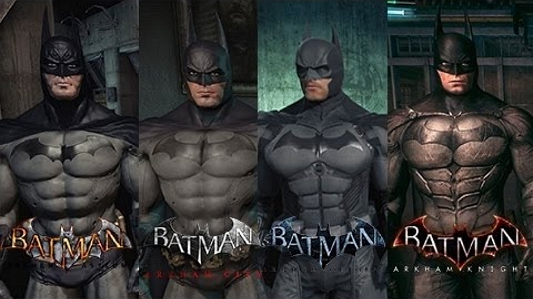 BATMAN ARKAHM GAMES SCREEN