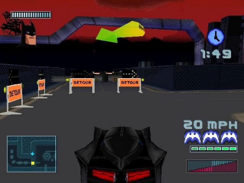 BATMAN GOTHAM CITY RACER SCREEN