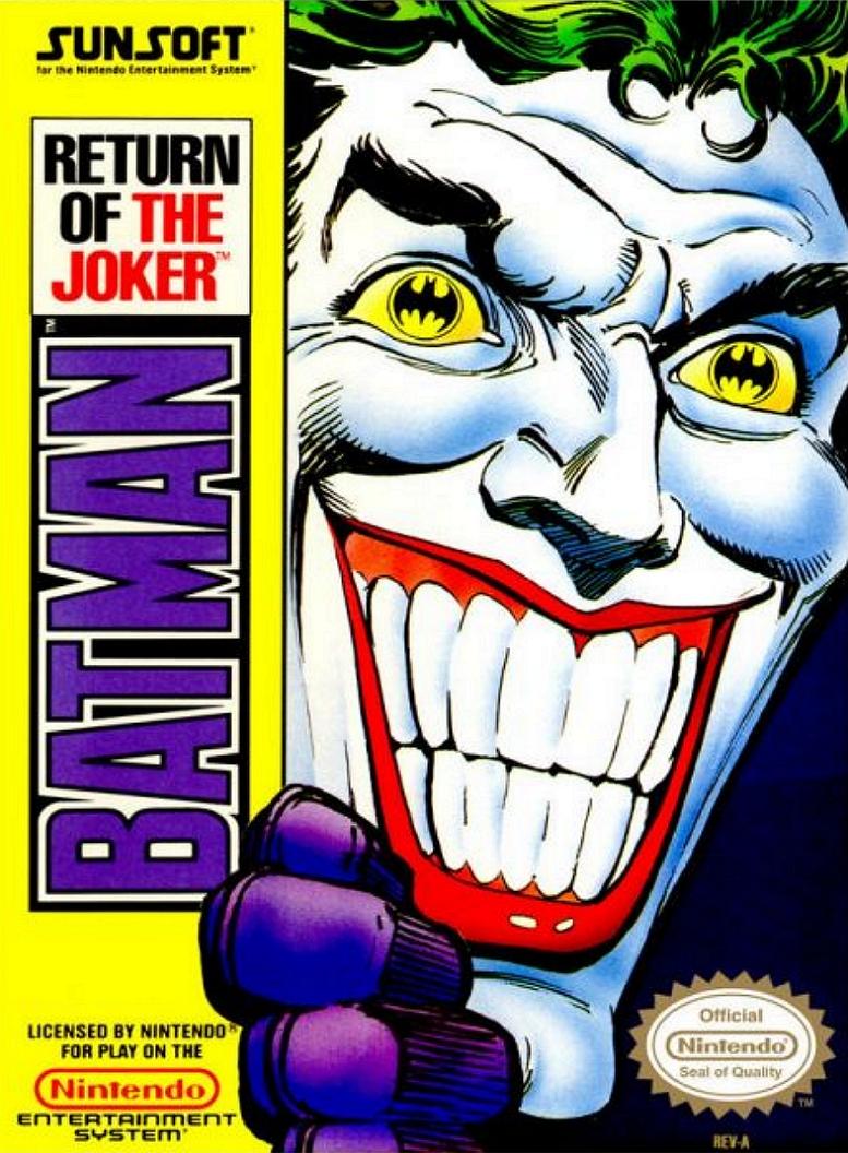 BATMAN RETURN OF THE JOKER NES