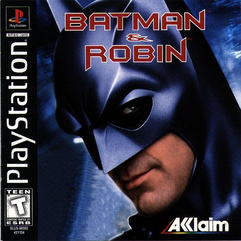 BATMAN & ROBIN PLAYSTATION