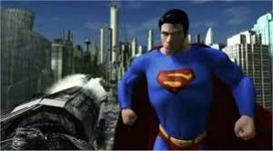 Superman 360 screen