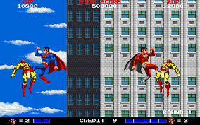Superman arcade screen