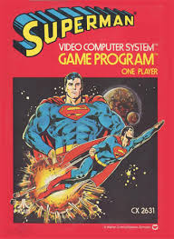 Superman Atari cover