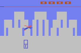 Superman Atari screen
