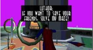 superman n64 screen