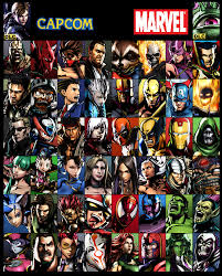 Marvel vs Capcom characters