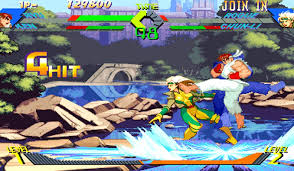 SF v Xmen screen