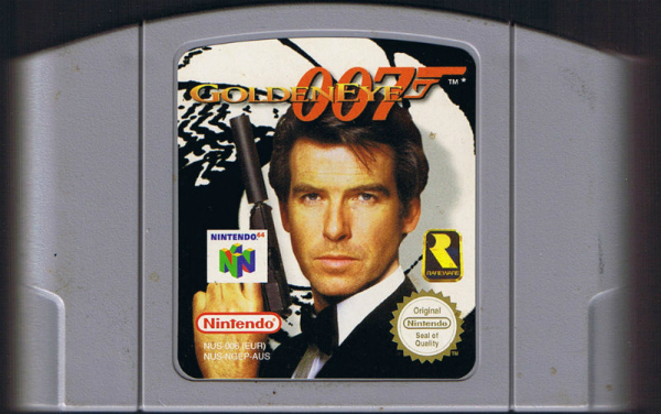 GoldenEye cart