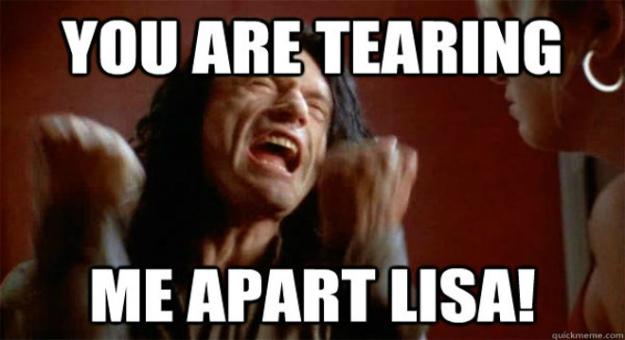 Tearing Me Apart Lisa