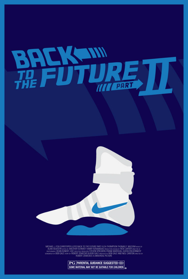 Back to the Future II Alternate Poster