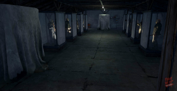 Friday the 13th The Game Virtual Cabin basement