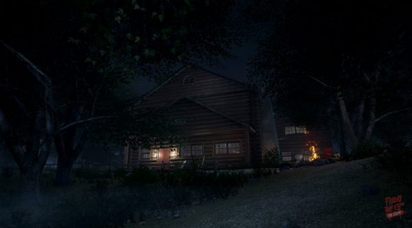 Friday the 13th The Game Virtual Cabin outside