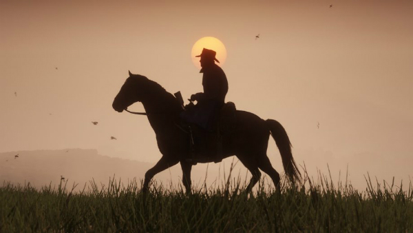Red Dead Redemption II Sunset