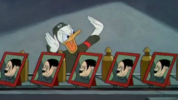 Donald Duck Nazi