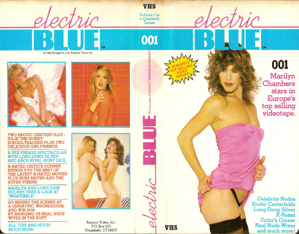 ELECTRIC BLUE VHS