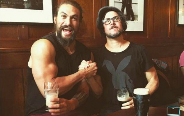 Jason Momoa and Corin Hardy