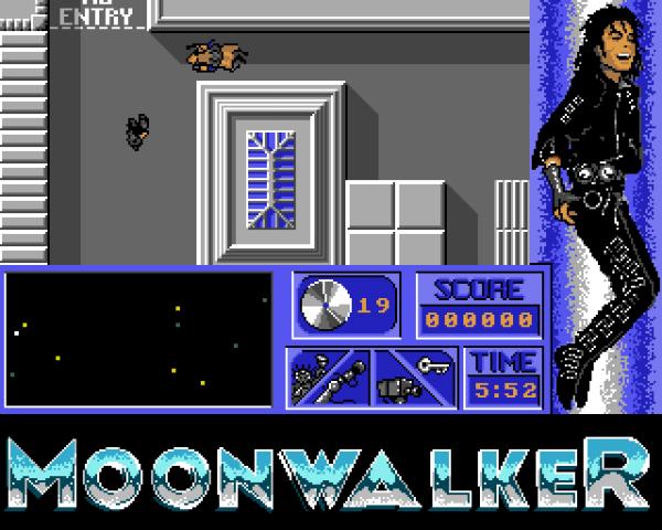 Moonwalker Amiga