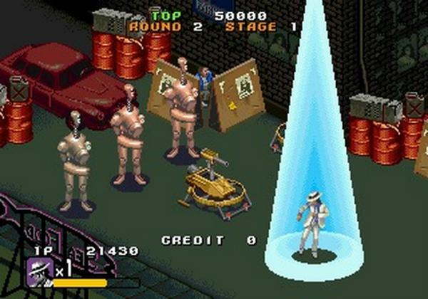 Moonwalker Arcade