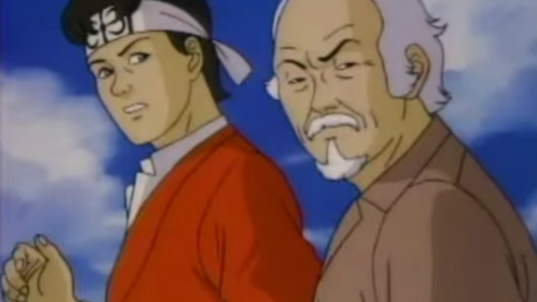The Karate Kid Animated