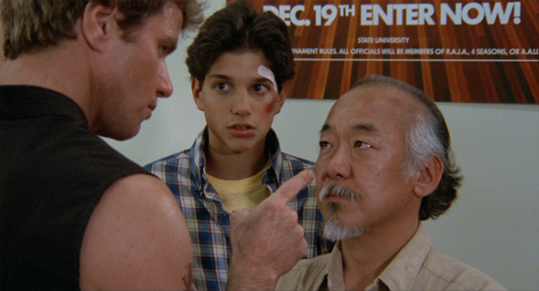The Karate Kid Fight Agreement