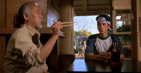 The Karate Kid Fly Scene