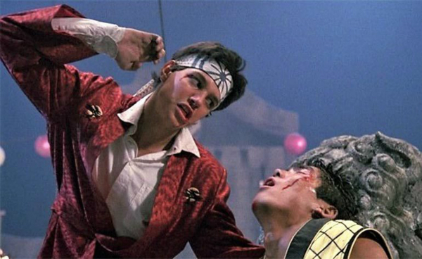 The Karate Kid II Fight