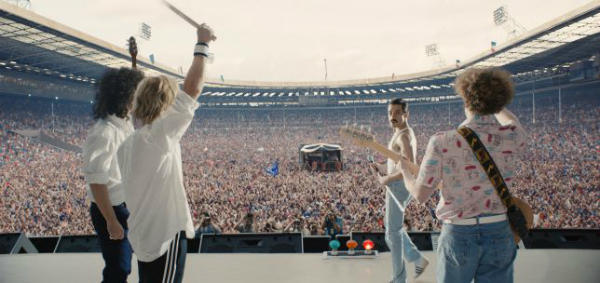 Bohemian Rhapsody Movie Live Aid Crowd