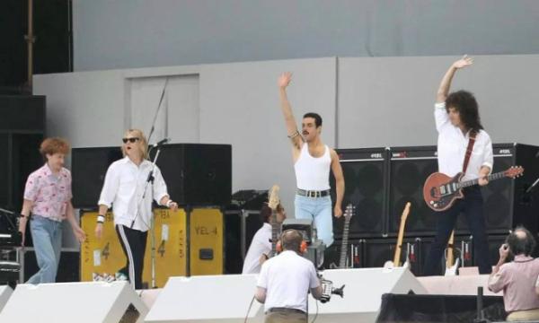 Bohemian Rhapsody Movie Live Aid
