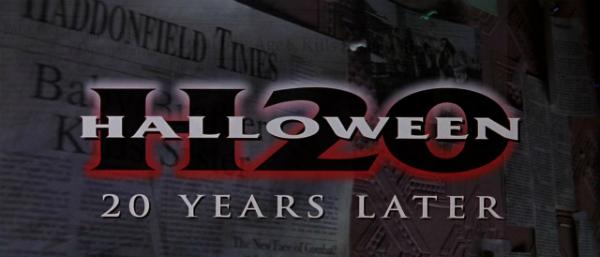 Halloween H20 20 Years Later