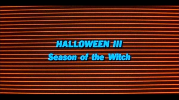 Halloween III Title