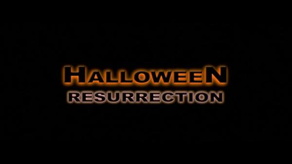 Halloween Resurrection Title