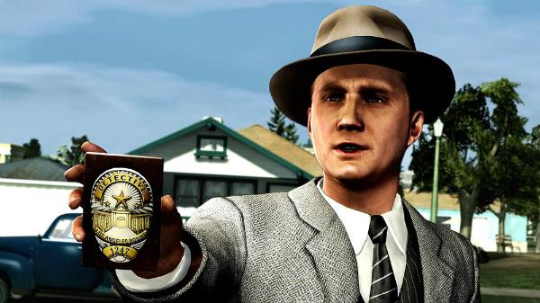L.A. Noire Badge