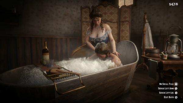 RDR II Bath