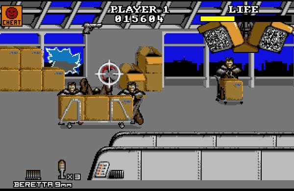 Die Hard 2 Amiga Action