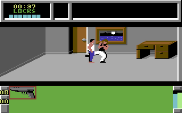 Die Hard C64 Action