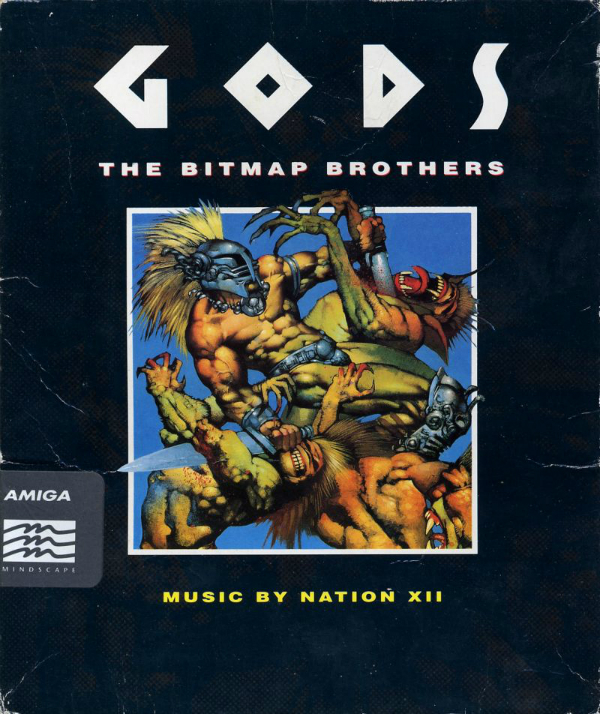 GODS Amiga Box