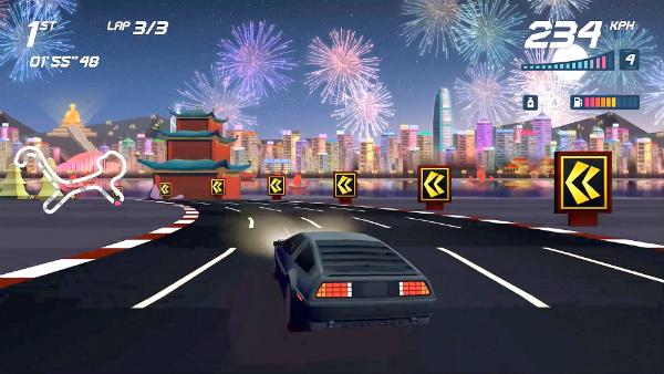 Horizon Chase Turbo DeLorean