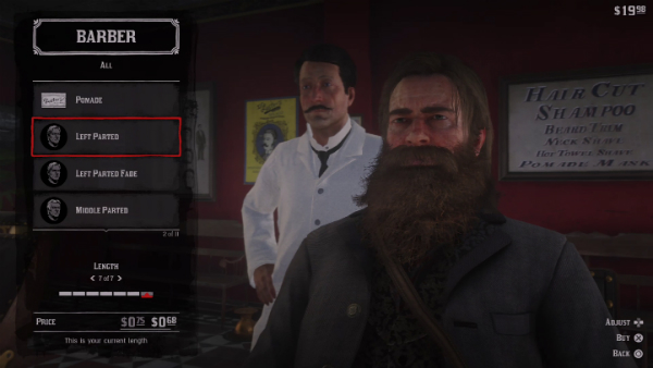 Red Dead Redemption II Arthur Beard