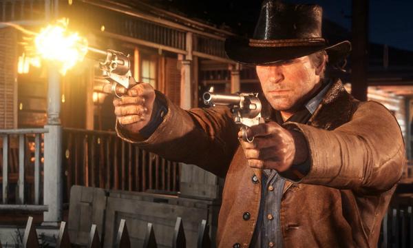 Red Dead Redemption II Arthur Shooting