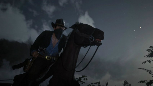 Red Dead Redemption II Horse Ride