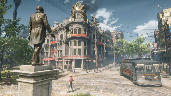 Red Dead Redemption II Saint Denis