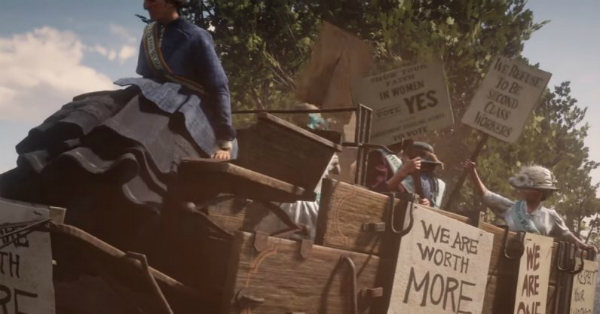 Red Dead Redemption II Suffragette Help