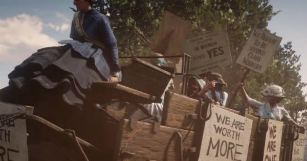 Red Dead Redemption II Suffragette Help