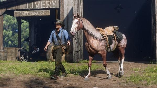 Arthur and Horse