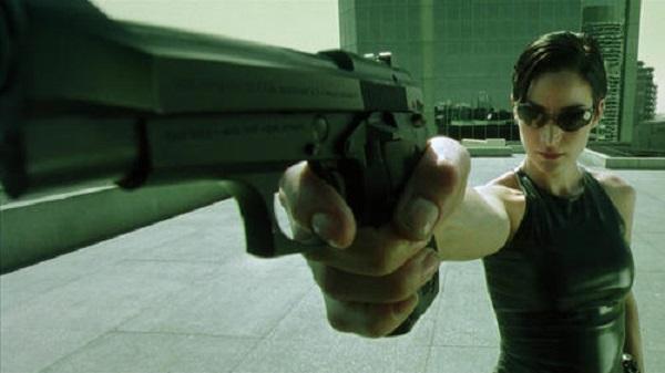 The Matrix Gun