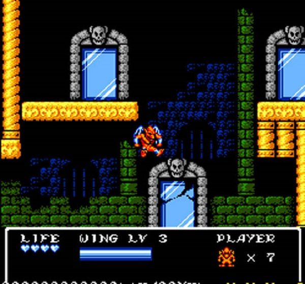 Gargoyle's Quest II Screen