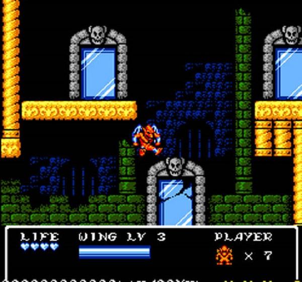 Gargoyle's Quest II Screen