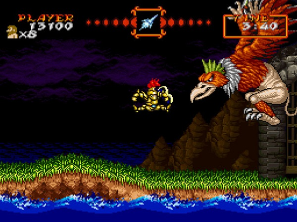 Super Ghouls N Ghosts Screen